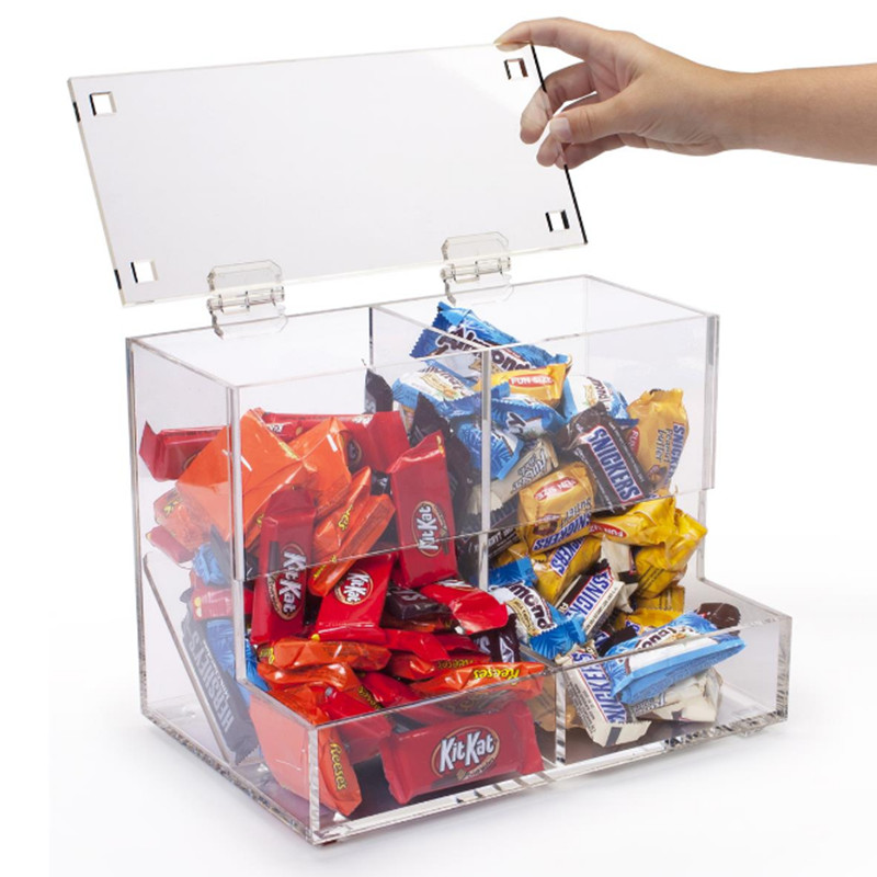 acrylic candy storage box