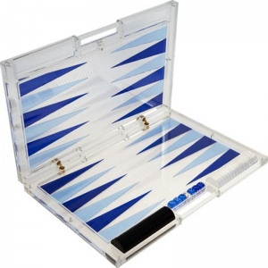 Acryl Backgammon Set