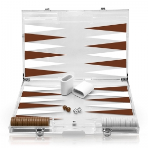 Acryl-Deluxe-Backgammon-Set