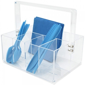Acryl Besteck Caddy